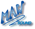 MAW Sound Recording Studio Logo